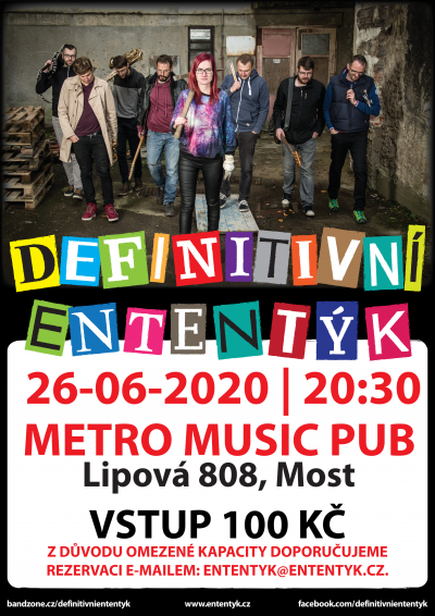 KONCERT | METRO MUSIC PUB, MOST